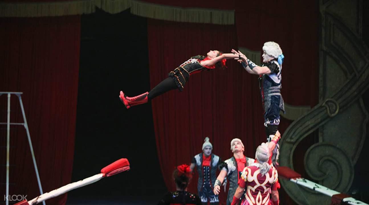橫琴島劇院雜技