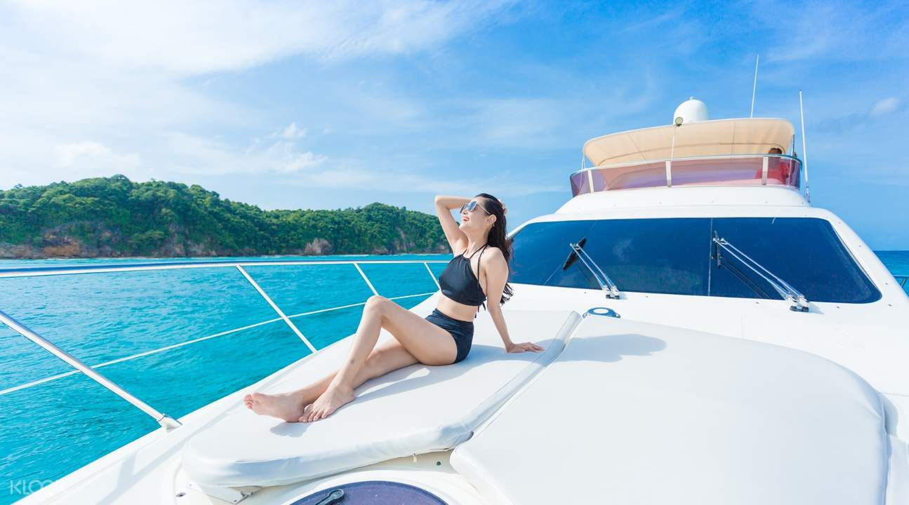 klook motor yacht exterior