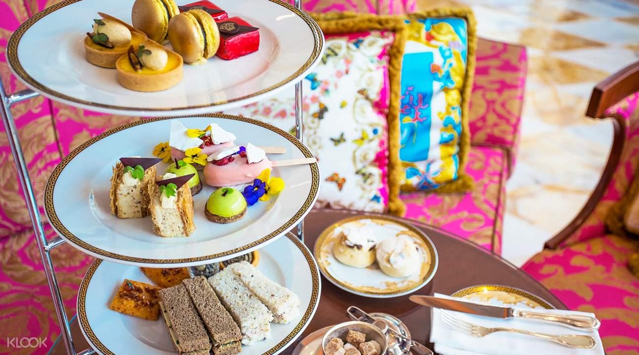 le jardin餐廳royal couture下午茶- 澳大利亞黃金海岸范思哲宮