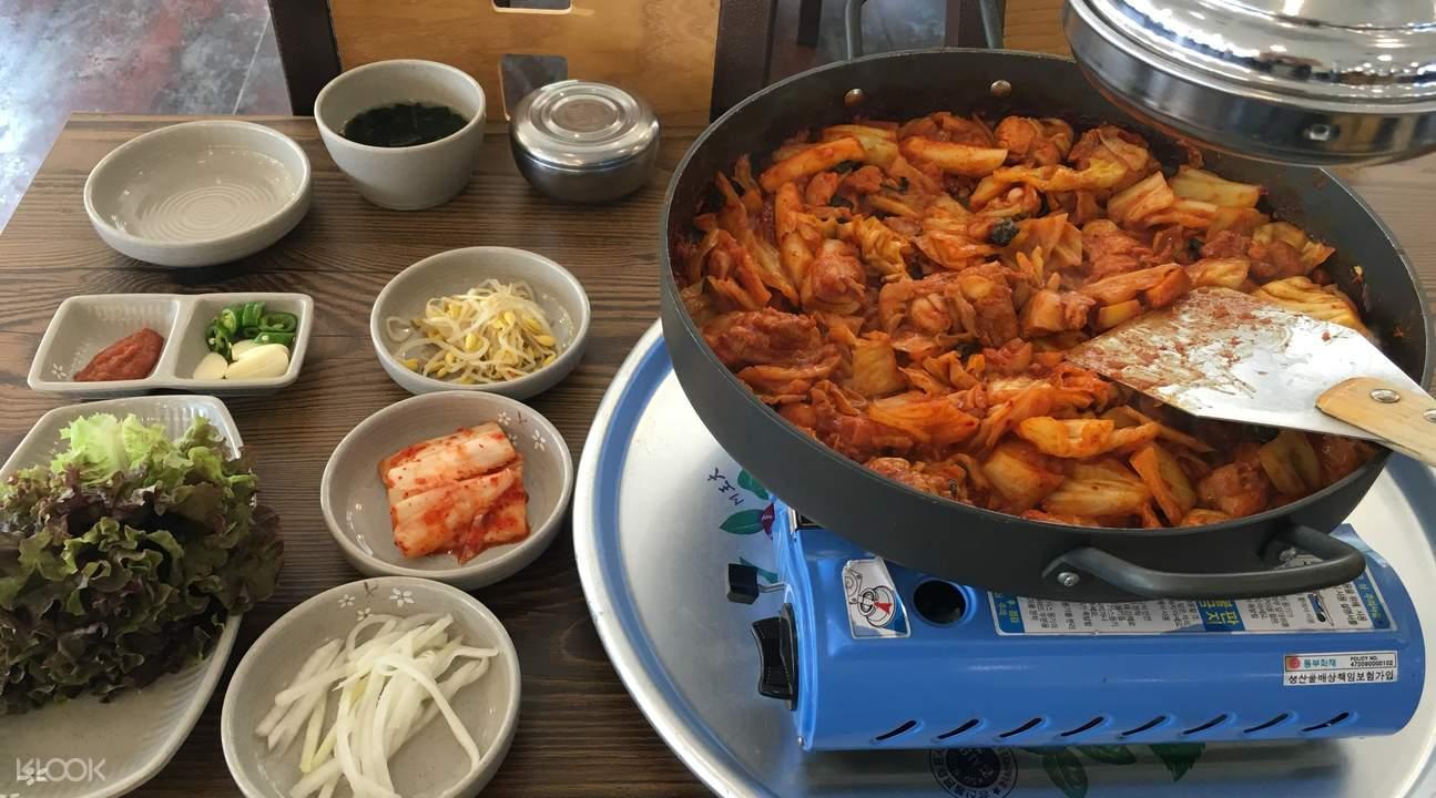 lunch spicy fried chicken