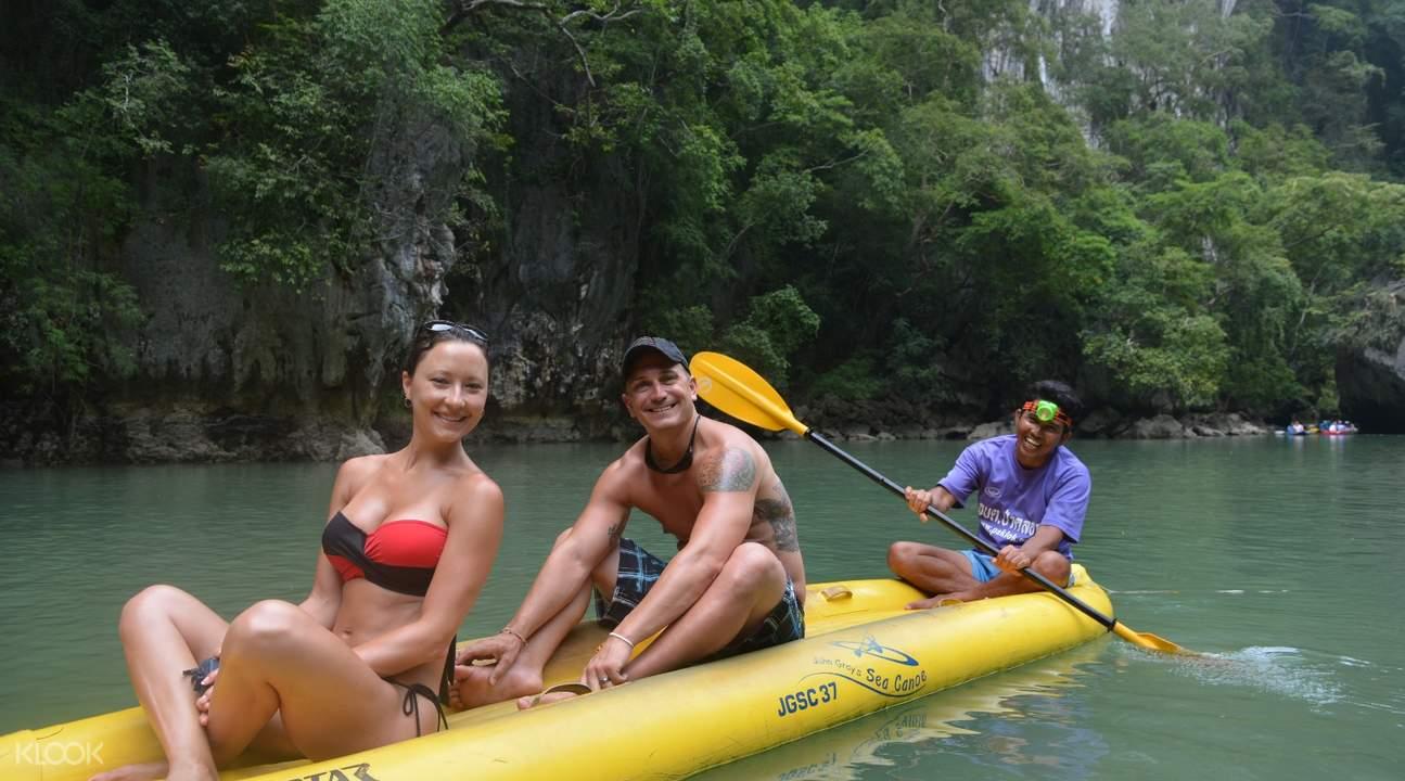 普吉岛皮划艇