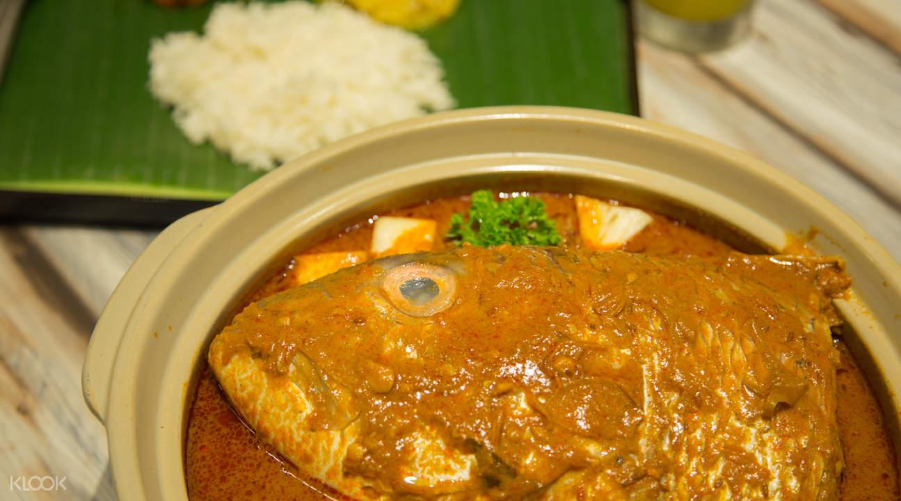 新加坡小印度Muthu's Curry