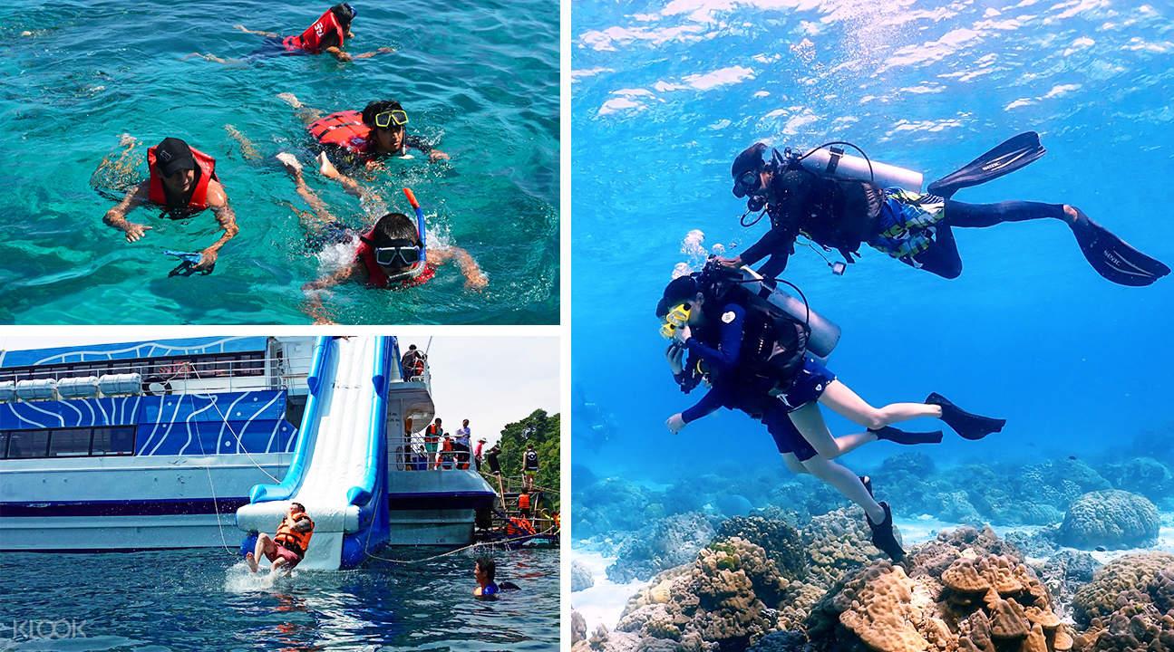 island hopping phuket, snorkelling tour phuket
