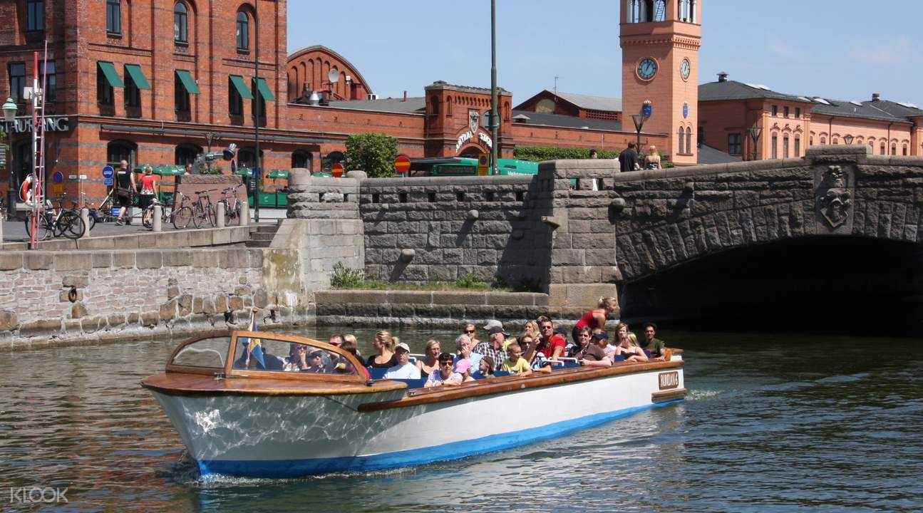 Malmo canal tour