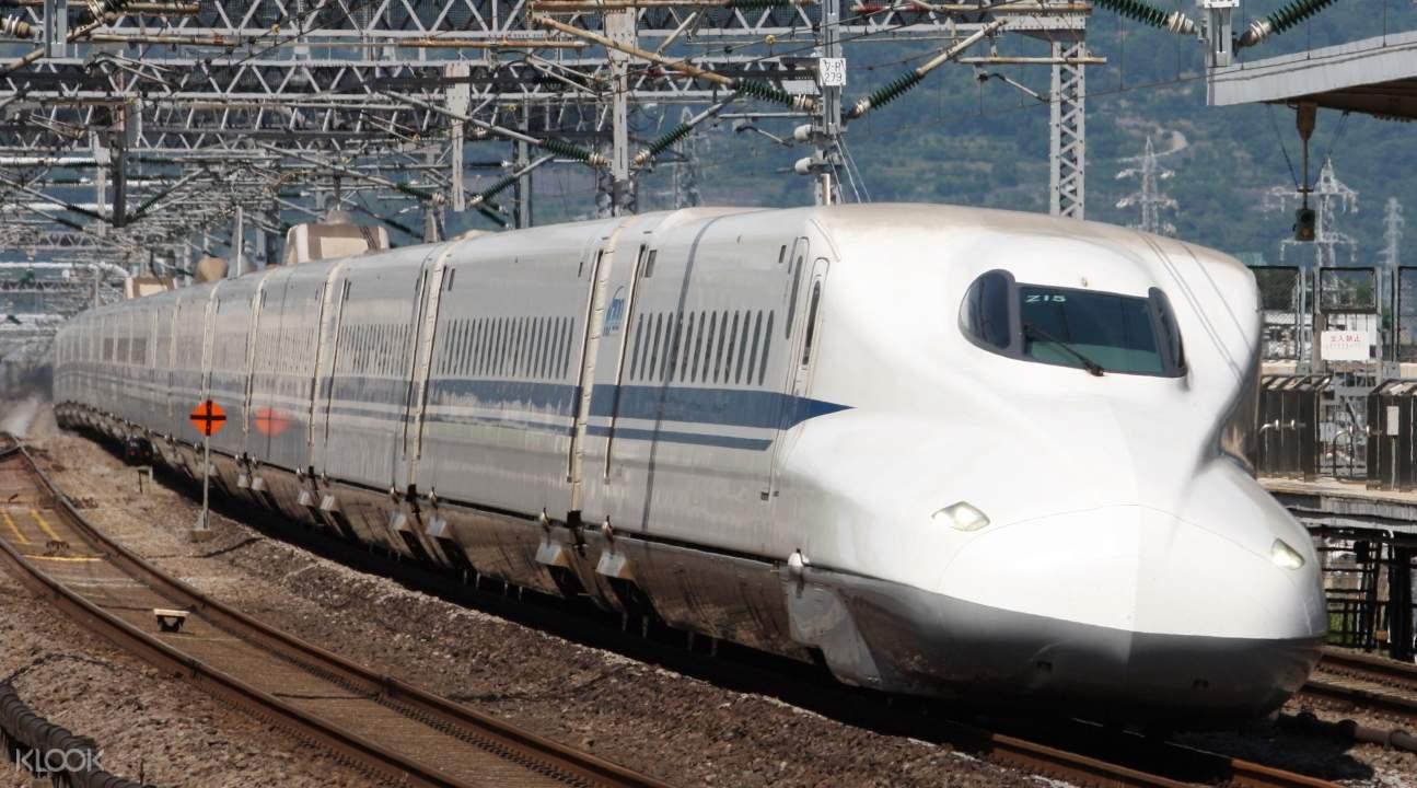Shinkansen Bullet Train Ticket from Osaka to Tokyo or