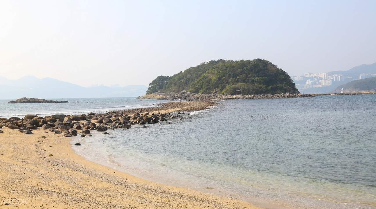 西貢古火山橋咀島