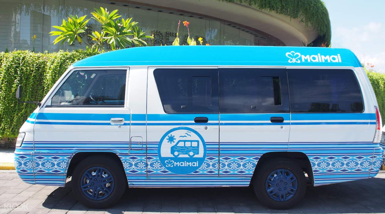 shuttle service in Bali