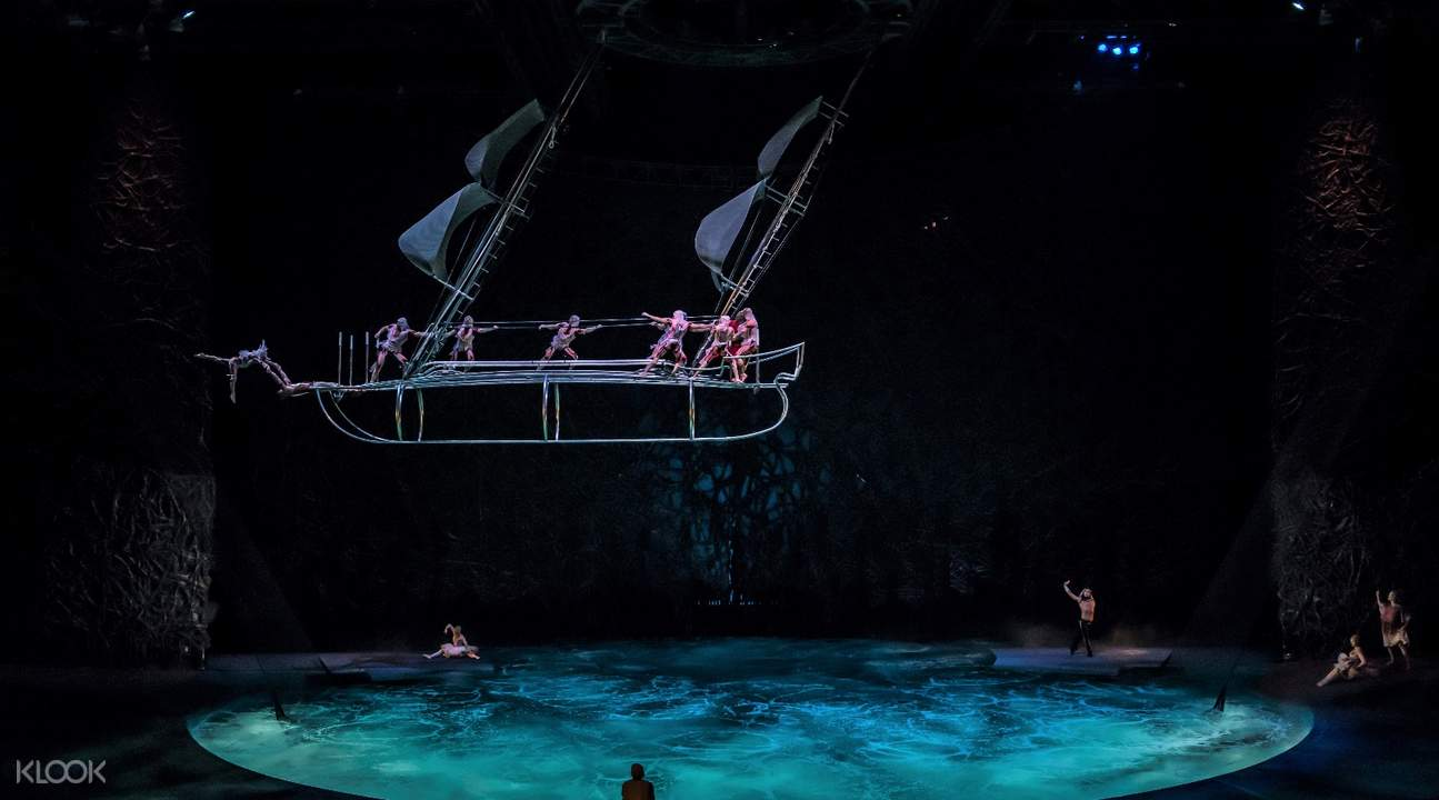 o by cirque du soleil ticket