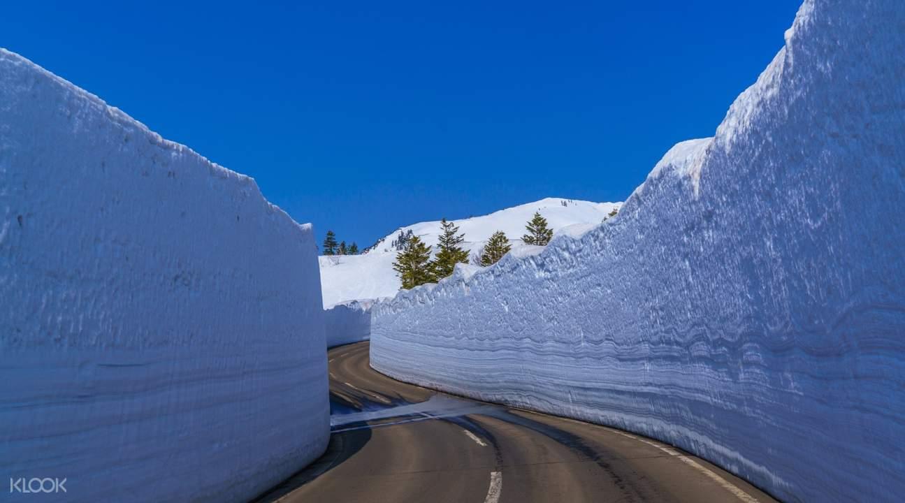 八甲田雪壁回廊