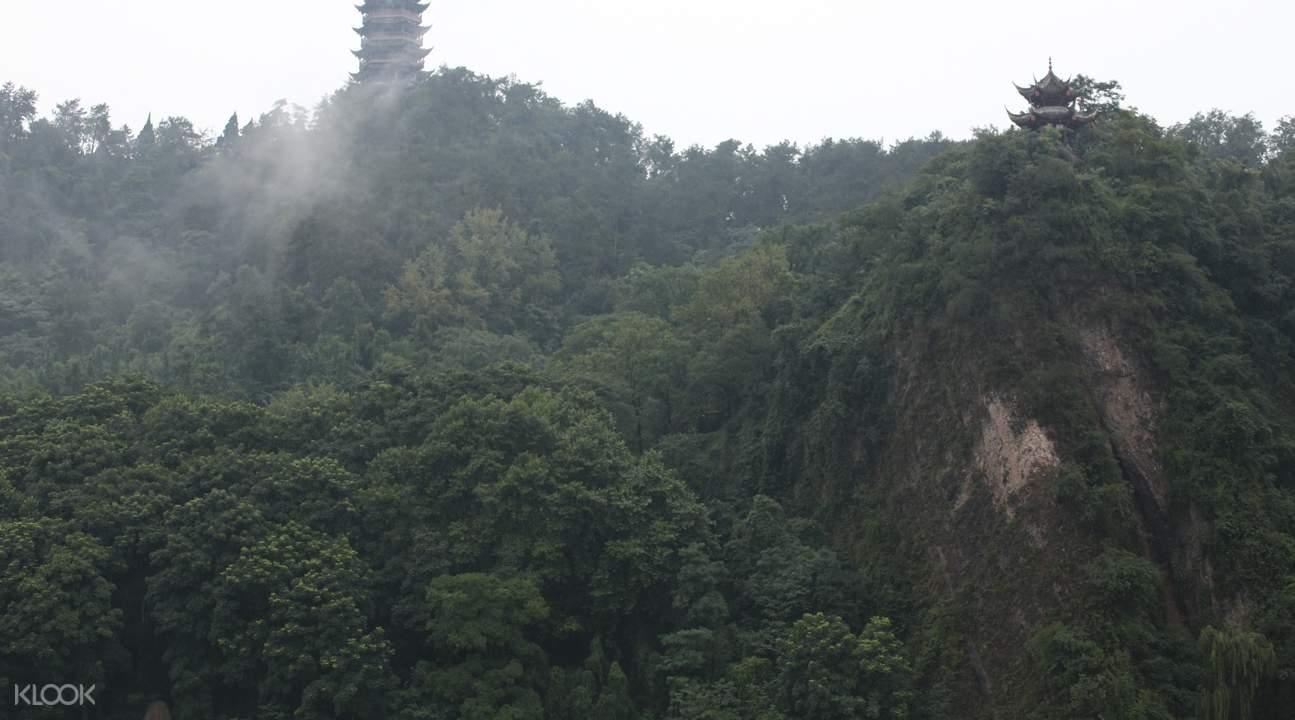 青城山后山