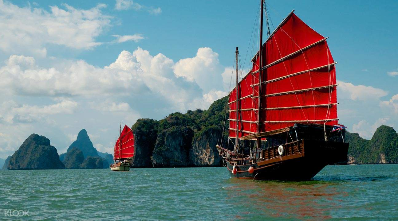 june bahtra sunset cruise of phang nga bay