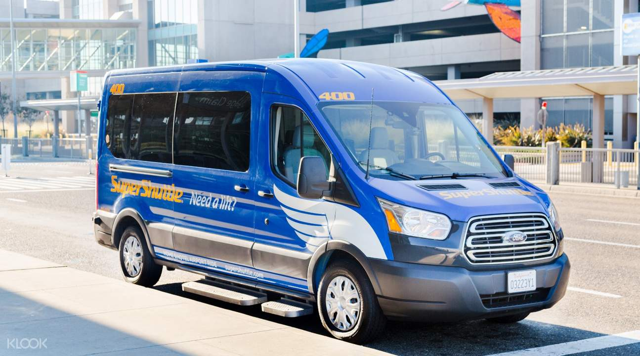 super shuttle van