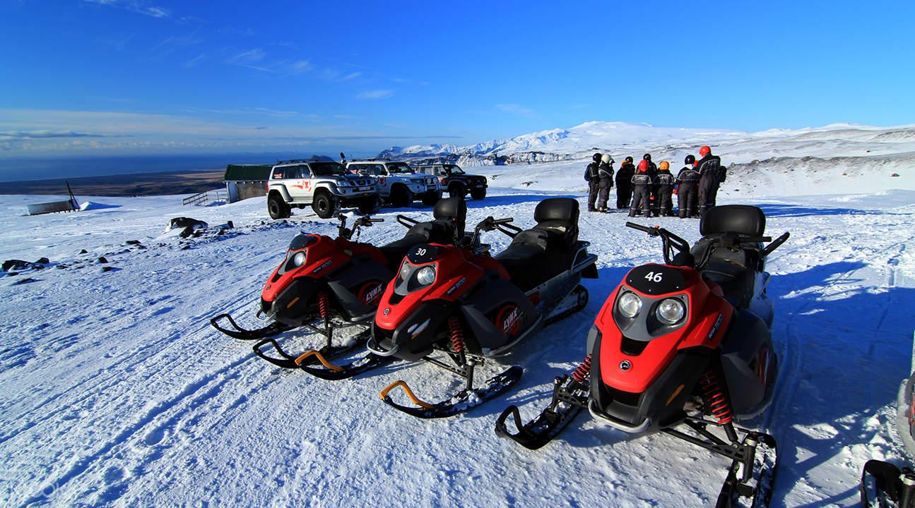 Langjökull Snowmobiling