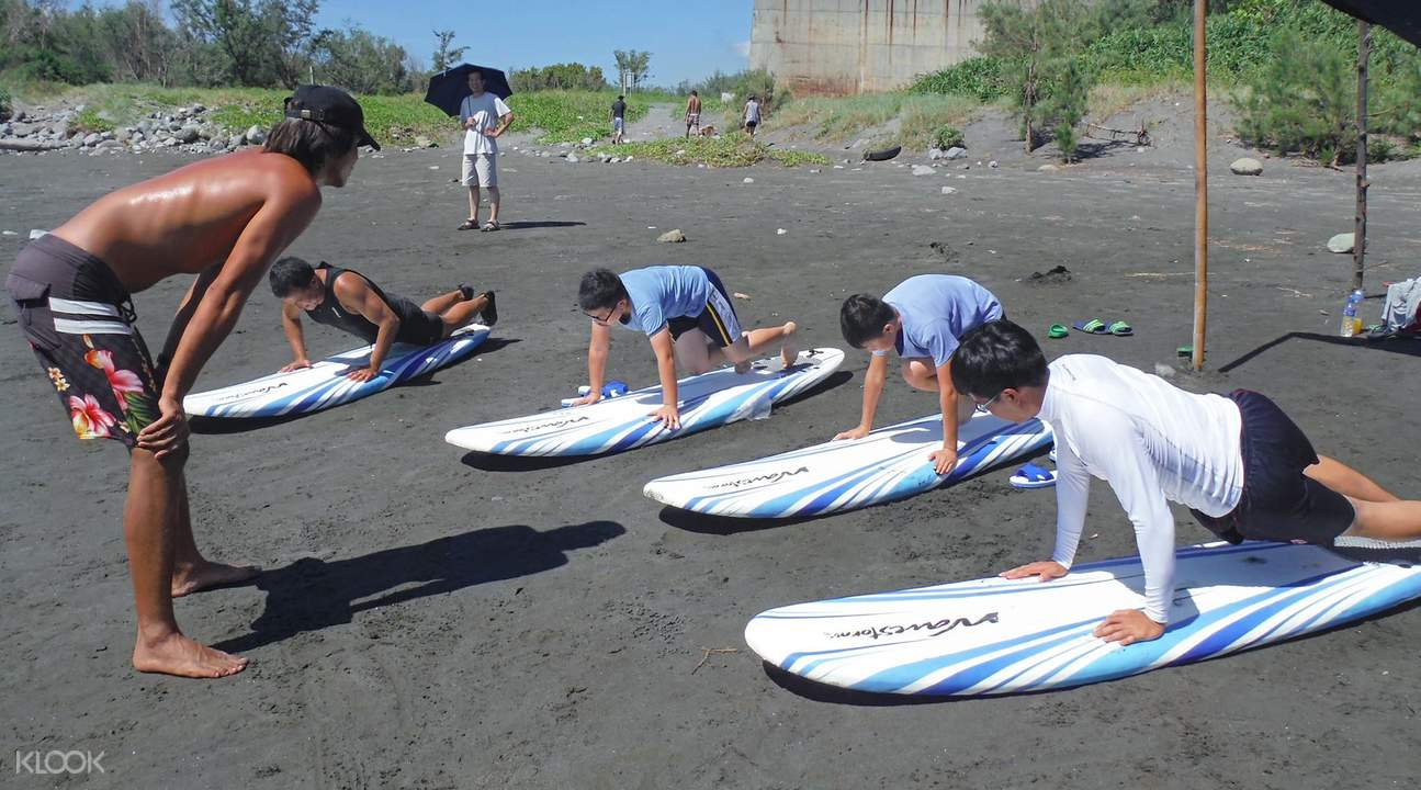 Donghe Surfing Instruction