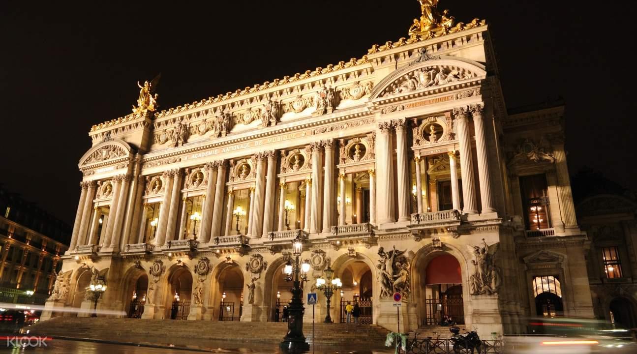 evening bus tour in paris