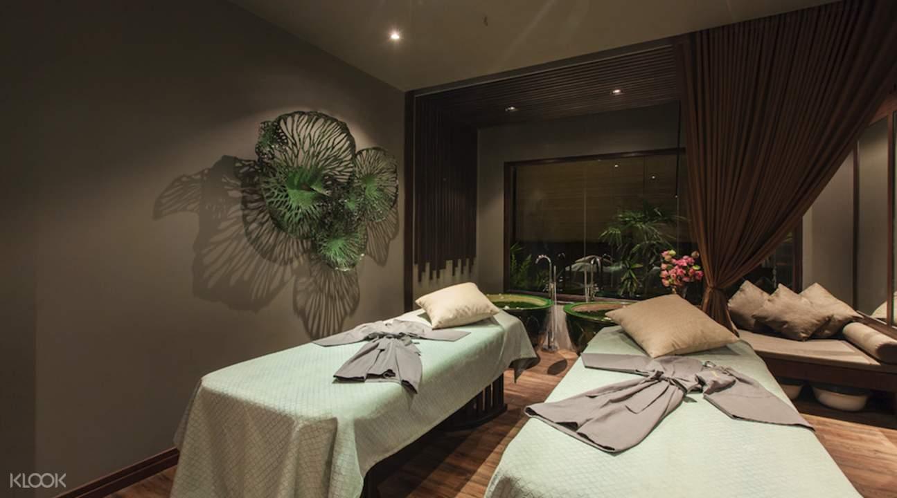 relaxing ambience Divana Nurture Spa in Sukhumvit 11 Bangkok Thailand