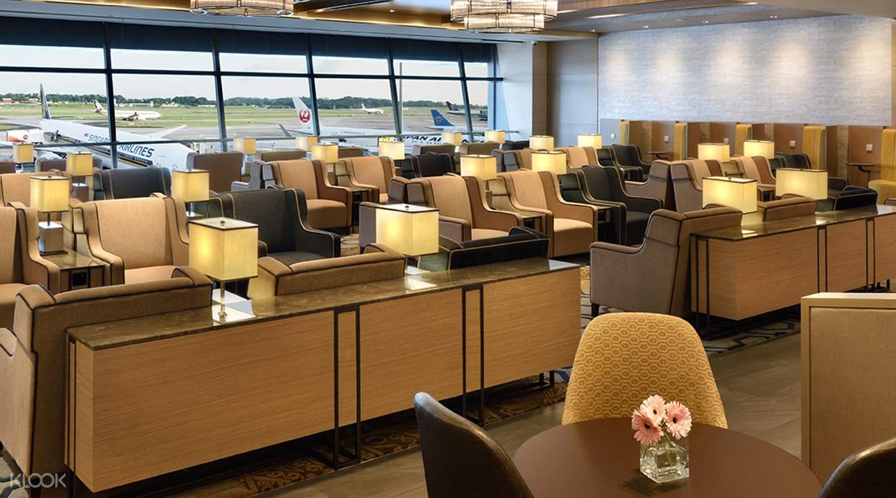 新加坡樟宜機場貴賓室(環亞貴賓室)