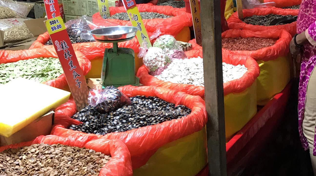 唐人街美食之旅市場