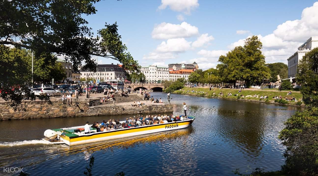 Gothenburg Pass Paddan boat