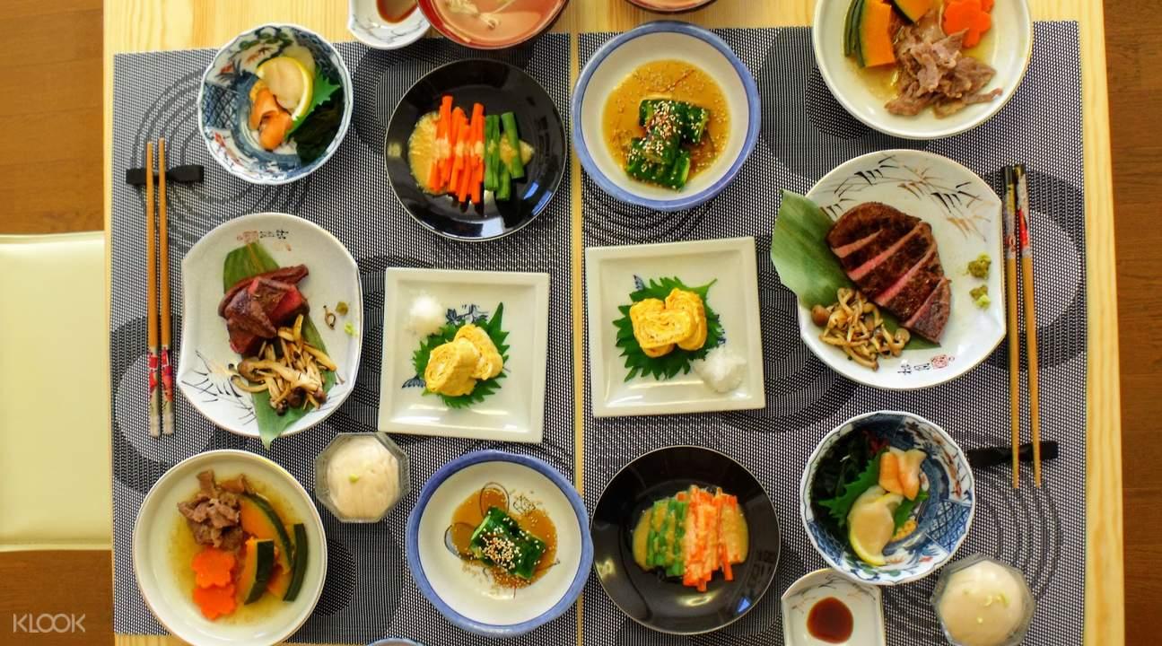 kaiseki cooking class