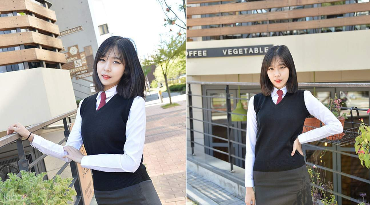 Gyobokmall Korean School Uniform Rental Seoul South Korea ...