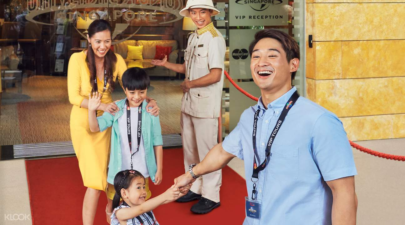 Universal Studios Singapore VIP reception