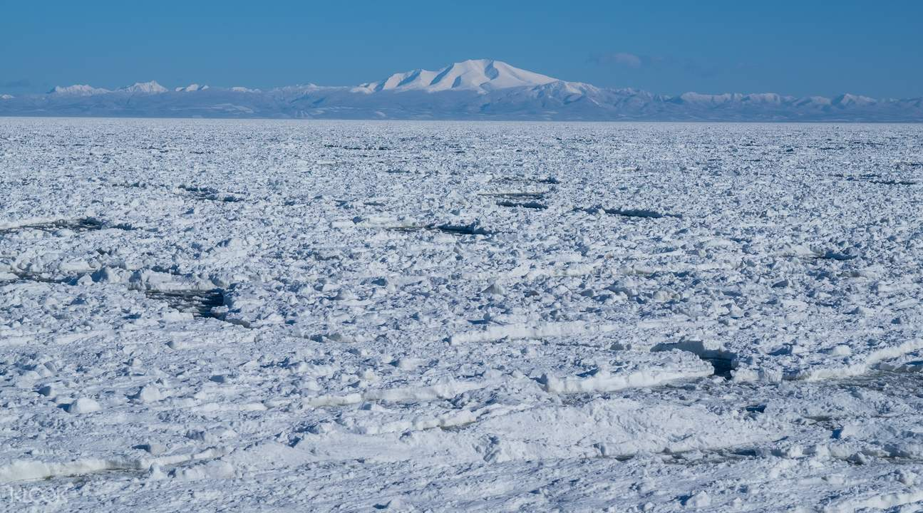 drift ice sightseeing monbetsu japan