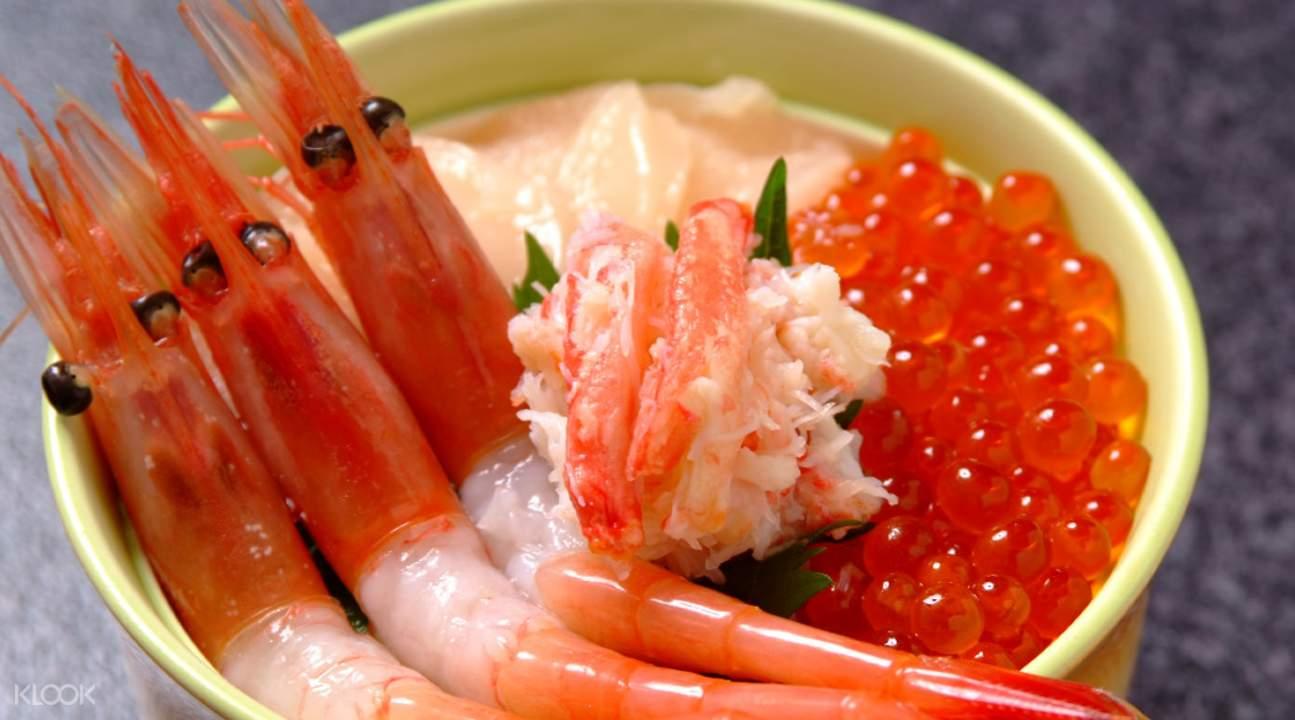 海鲜寿司饭午餐