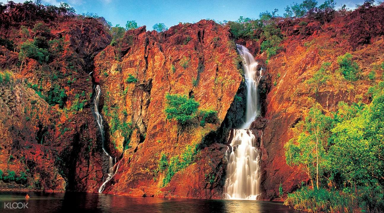 利奇菲尔德国家公园瀑布