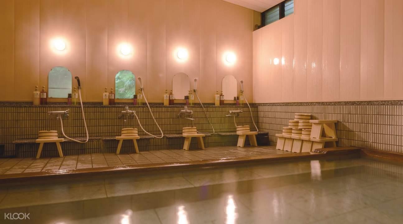 箱根芦之湖室内温泉