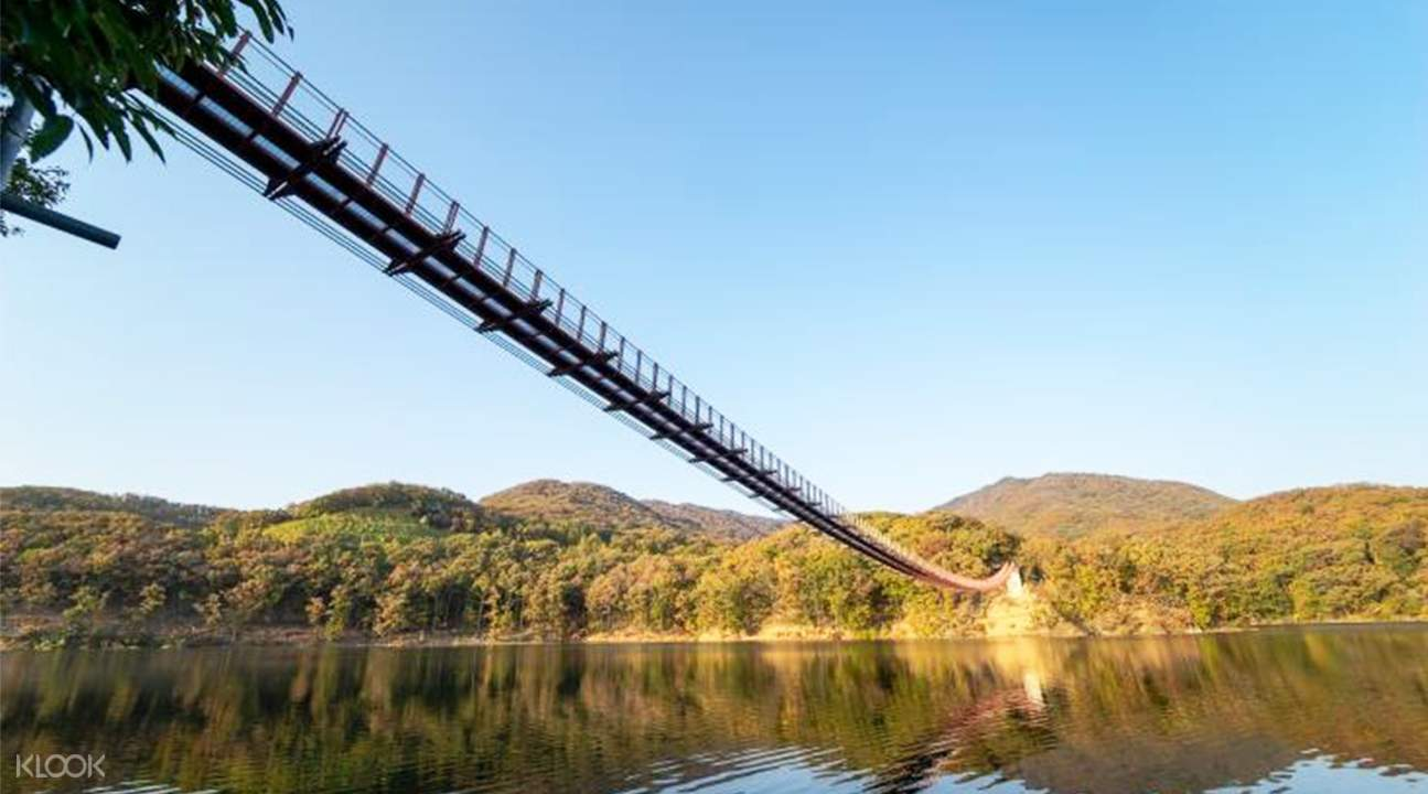 馬場湖水Sky Walk鐵索吊橋