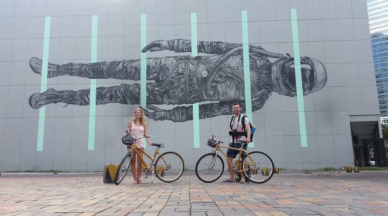 马尼拉骑行,马尼拉BGC,马尼拉BGC骑行,竹制自行车骑行