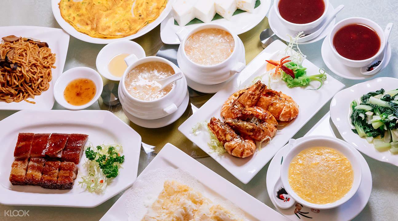 新鬥記米其林餐廳點心套餐