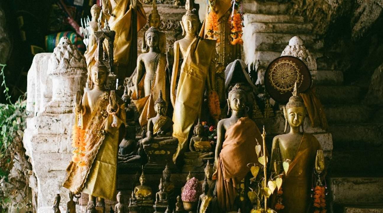 帕烏洞 & 佛寺Wat Done Khoun Nelemith 遊輪半日遊