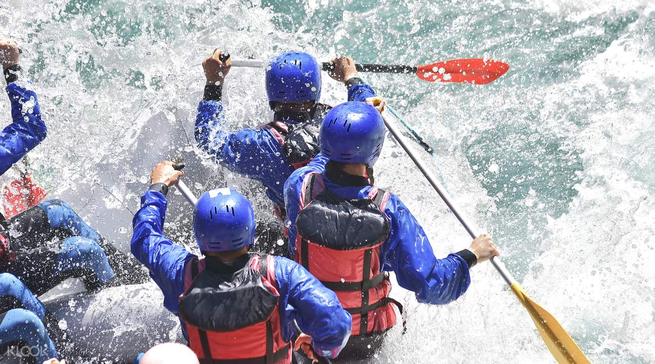 whitewater river rafting north coast