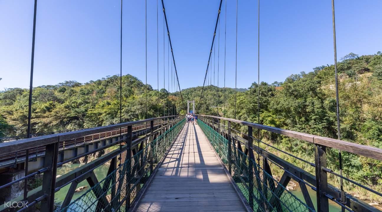 Shifen Waterfall bridge taiwan
