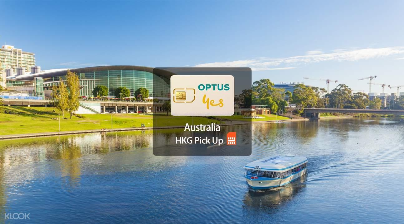 3G SIM Card (HKG Airport Pick Up) for Australia