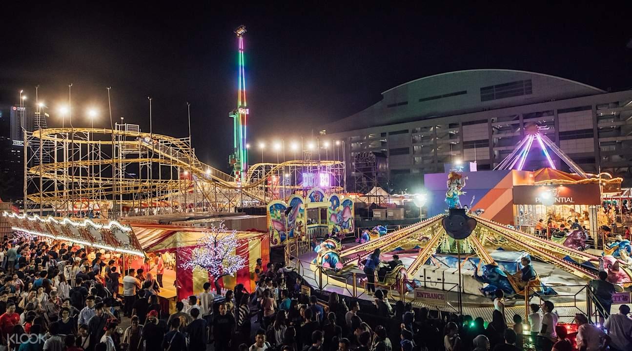 保诚嘉年华,新加坡嘉年华,新加坡狂欢节,新加坡最大嘉年华,新加坡跨年,新加坡什么值得玩