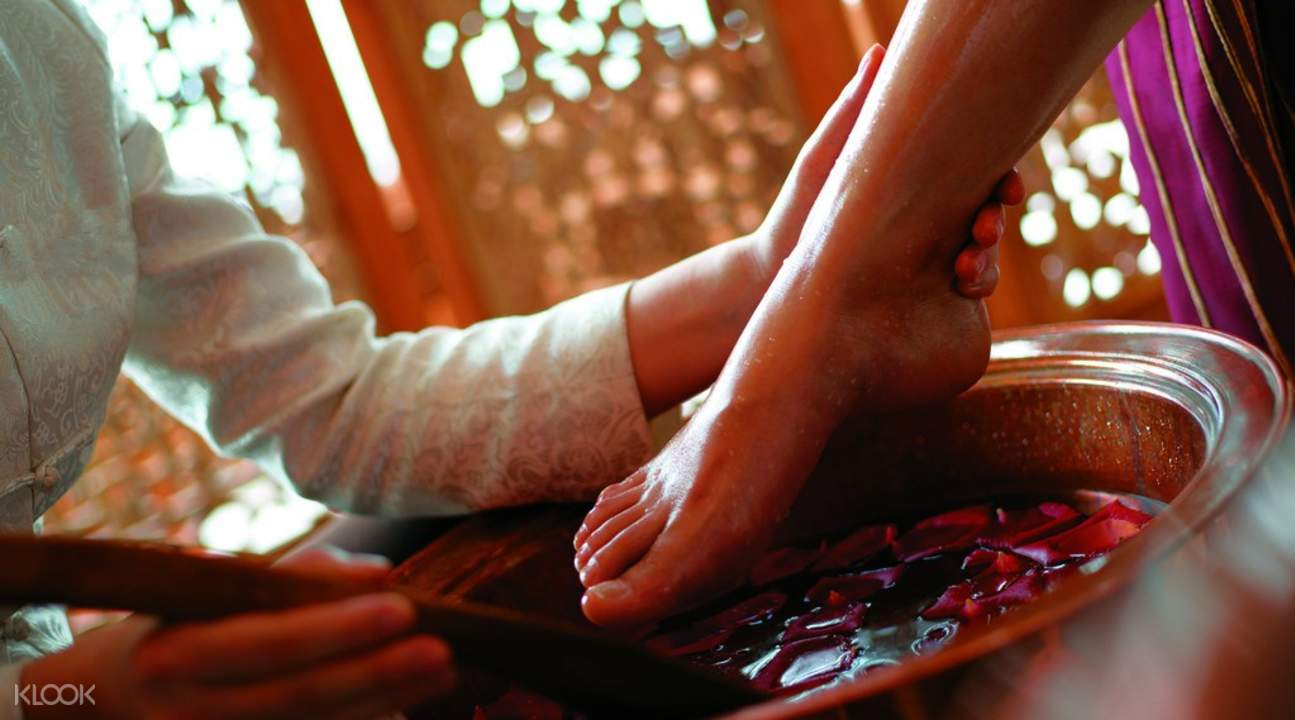 foot reflexology in beijing