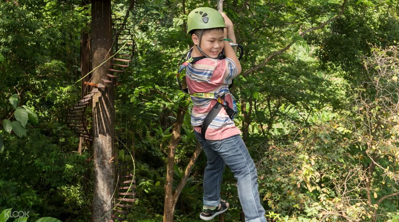 普吉岛丛林飞跃