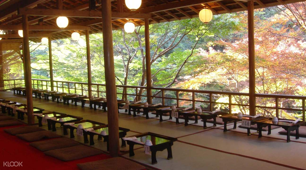 京都夏夜風情 川床納涼京料理(含接送)