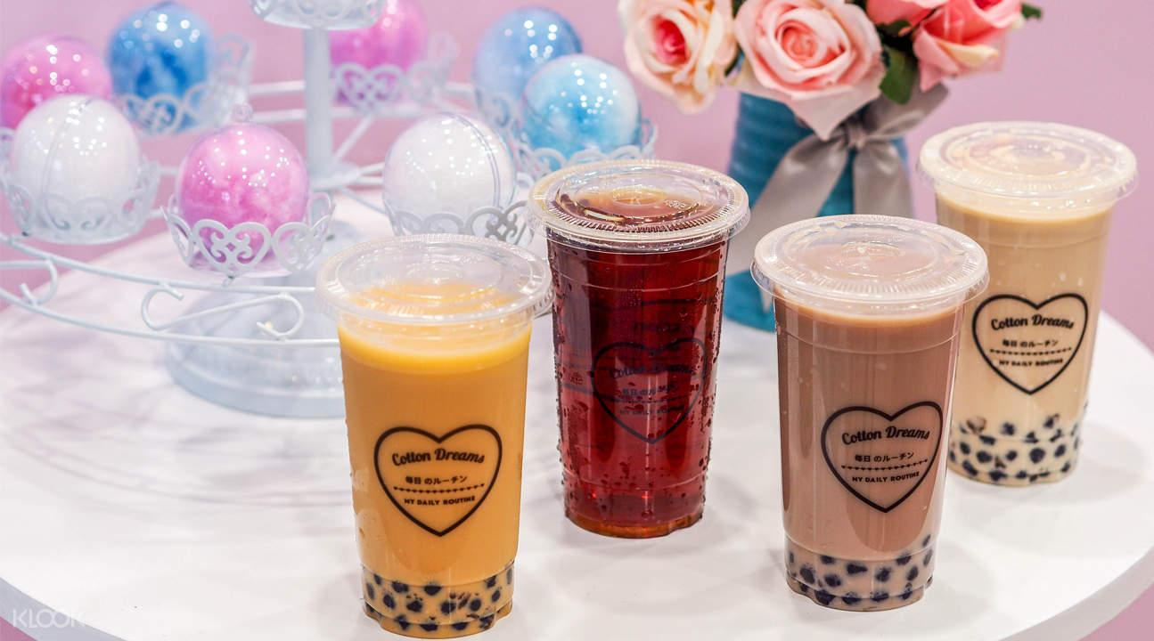 bubble milk tea cotton dreams somerset