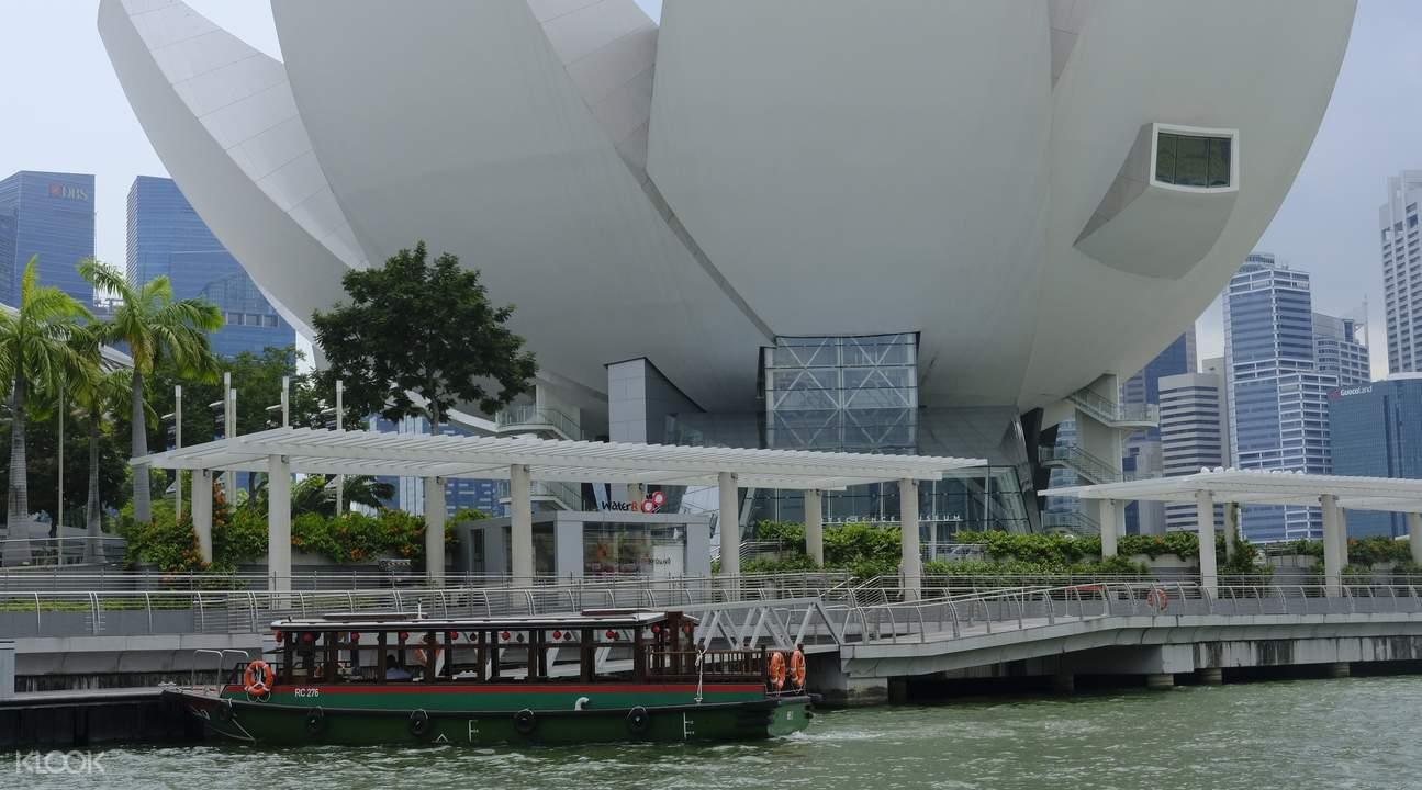 Boat Cruise on Singapore River