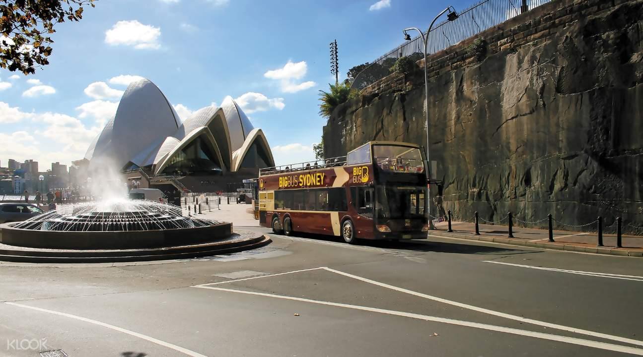 雪梨隨上隨下觀光巴士之旅