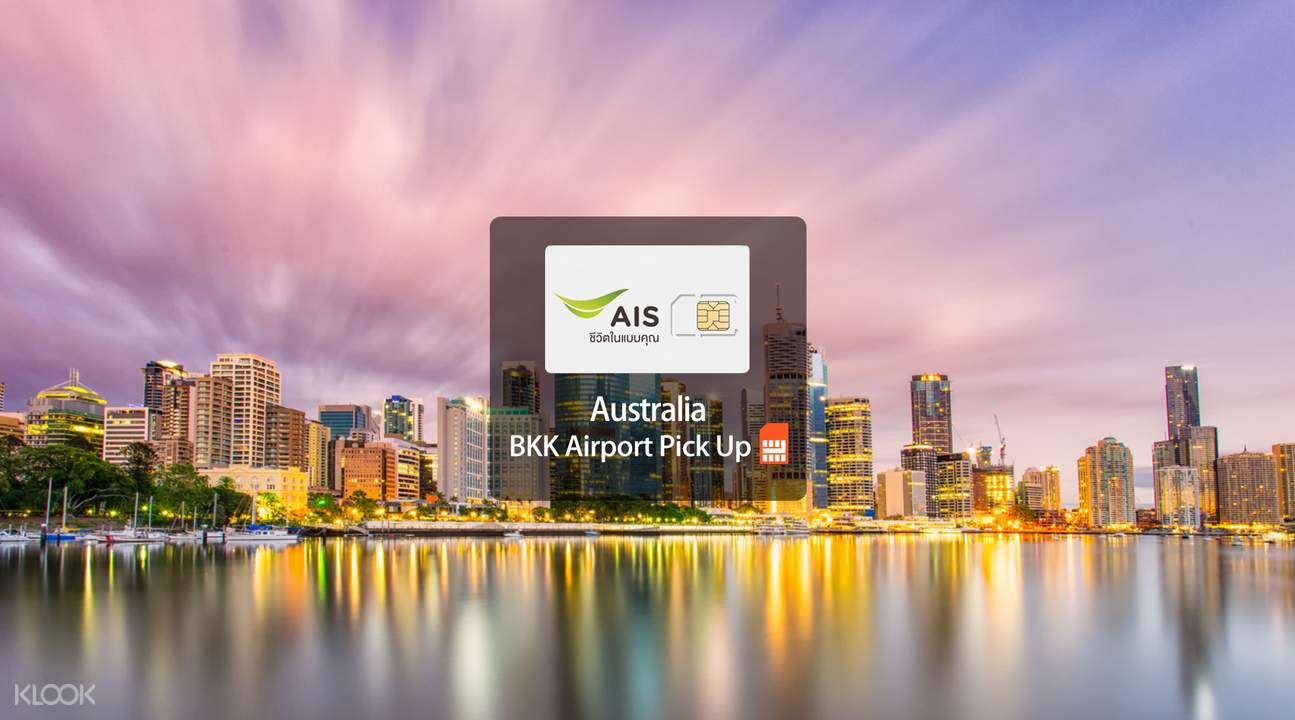 ais 4G SIM bangkok airport new zealand