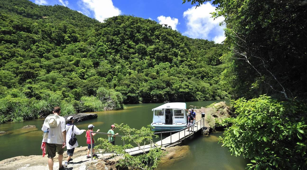 西表島之旅,由布島之旅,石垣島前往西表島及由布島,浦內川遊船,maryudo瀑布,星沙海灘