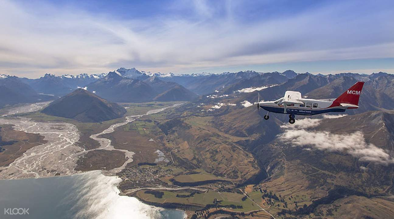 Milford Sound Fly-Over from Queenstown