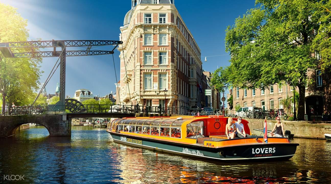 阿姆斯特丹运河泛舟