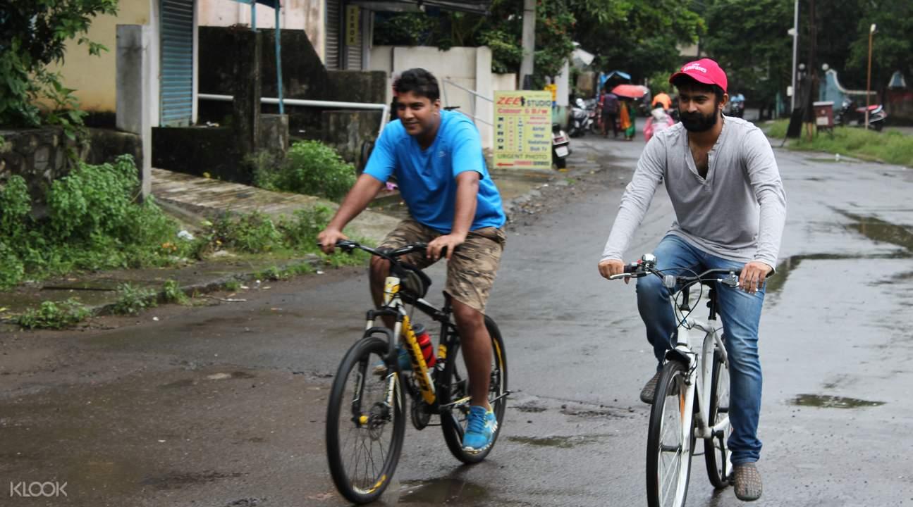 晨間自行車之旅