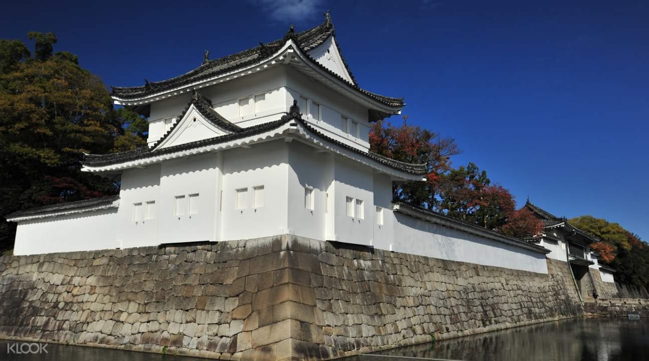 nijo castle building exterior